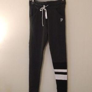 VS Pink Gray Yoga Pants/ Leggings